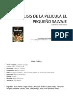 ANALISIS DE LA PELICULA EL PEQUEÑO SALVAJE 2