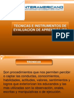 Técnicas e Instrumentos (cuarta expo)