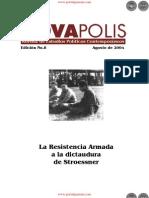La Resistencia Armada a la dictadura de Stroessner - Edición No.8 Agosto de 2004 - NovaPolis - REVISTA DE ESTUDIOS POLÍTICOS CONTEMPORÁNEOS - Paraguay - PortalGuarani