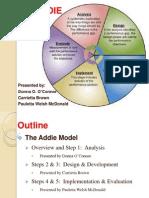 Presentation - Addie Model