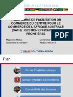 PROGRAMME DE FACILITATION DU COMMERCE DU CENTRE POUR LE COMMERCE DE L'AFRIQUE AUSTRALE (SATH)