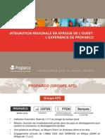 INTEGRATION REGIONALE EN AFRIQUE DE L'OUEST