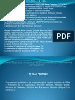De La Politique de La Fluidite et de la Continuité de Transport en Cote d'Ivoire