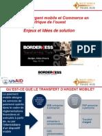 Transfert d'argent mobile et Commerce en Afrique de l'ouest