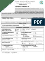 Ficha Leptospirosis