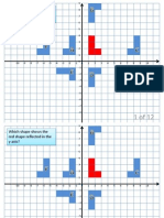 3 AE Transformations on Coord Grid Multiple Choice