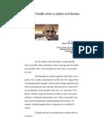 Manifesto de Gandhi Sobre Os Judeus Na Palestina