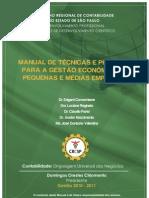 Manuais de Técnicas e Práticas de Gestão PMEs - CRC SP