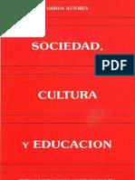 1991, Sociedad, cultura y educación -Homenaje a C Lerena (VR)