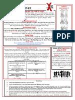 Xtreme Dance June 2012 Newsletter