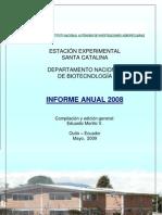 Informe Anual DNB 2008