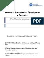 Herencia Autosomica Dominante y Recesiva To