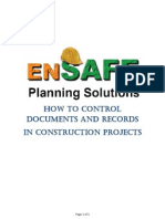 How to Control Documents and Records in Construction Projects