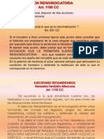 Accion de Peticion de Herencia y Ejecutores Testamentarios