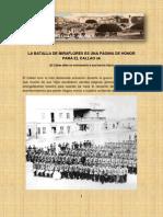 Batalla de Miraflores, Version Publicada 13.02.12[1]