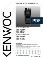 TH K20A Manual