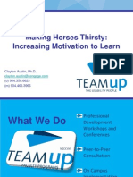 Making Horses Thirsty