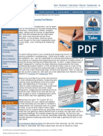 Article, Marking and Measuring Tool Basics