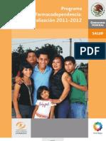 Programa Farmacodependencia 2011-2012