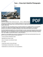 Chemtrails & HAARP - US Chemical Spray Plane - Close-Up & Satellite Photographs