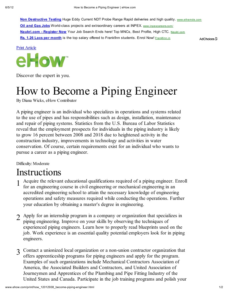 Ehow how to discover the expert in you - Ehow How To Discover The Expert In You 9