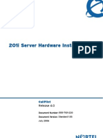 CP 4.0 201i Server Hardware Installation