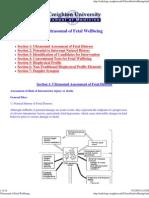 Ultrasound of Fetal Wellbeing