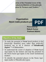 Final PPT Neem India Rakesh