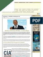 Kofi Annan – Vermittler im Auftrag der CIA