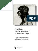 Psychiatrie Im Dritten Reich in Niedersachsen - NS-Psychiatrie