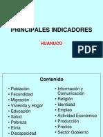 Inei 10.Indicadores Huanuco - Junio 2011-Ok