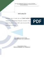 Modelo de Declaração.QUAL.DIR.03-09-07