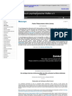 Strahlenfolter - Interviews Und Messungen an Targeted Individuals - Opfer Von Mind Control