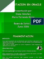 Fragmentacion en Oracle (1)