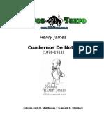 James, Henry - Cuadernos de Notas
