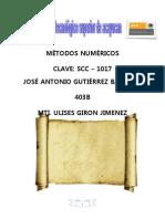 Jose Antonio Gutierrez Bautista _MÉTODOS NUMÉRICOS unidad 6
