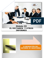 Dictamenes de Auditoria Final