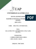DIDACTICA UNIVERSITARIA de Elías Castilla Rosa Pérez