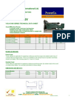 Volvo Data Sheet Pcs277-325v