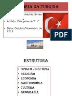 História da TURQUIA- Antónia