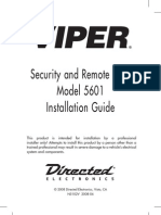 Viper 5601 Installation Guide 5102V