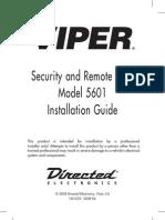 Viper 5601 Installation Guide 5102V