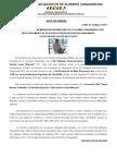 Nota de Prensa Olimpiadas 2012