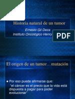 Historia Natural de Un Tumor
