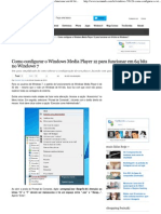 Como Configurar o Windows Media Player 12 Para Funcionar Em 64 Bits No Windows 7