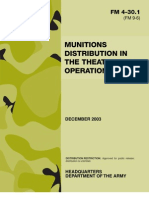 FM 4-30.1 Munitions Distribution in the Theater of Operations