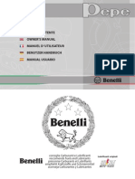 Benelli Pepe Owners Manual