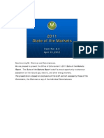 2011 US State of the Markets Report