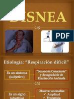 Expo Semio Grupo 7.- Disnea