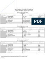 2012 Completed Girls Press Sheet A